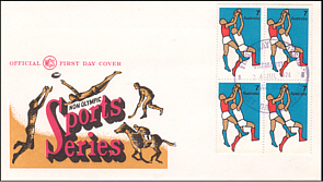 1974 Non Olympic Sports FDC