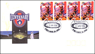 1996 Adelaide AFL Centenary Cover