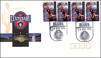 1996 Carlton AFL Centenary Cover