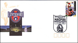 1996 Collimgwood AFL Centenary Cover