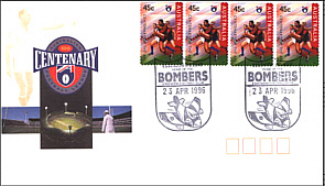 1996 Essendon AFL Centenary Cover