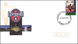 1996 AFL Centenary Cover with Fremantle PM