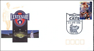 1996 Geelong AFL Centenary Cover