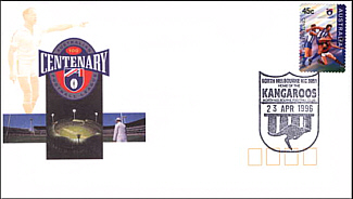 1996 North Melbourne AFL Centenary Cover
