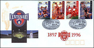 1996 AFL Centenary Cover