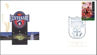 1996 Saint Kilda AFL Centenary Cover