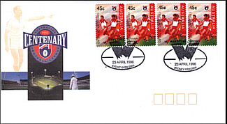 1996 Swans AFL Centenary Cover