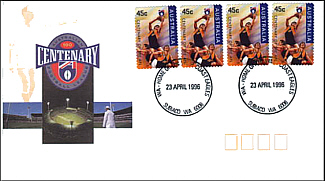 1996 Eagles AFL Centenary Cover