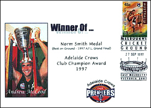 1997 Norm Smith Medalist Andrew Mcleod