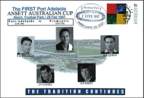 First Port Power Ansett Cup game