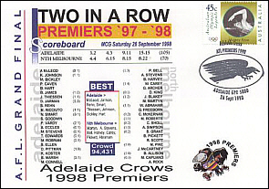 1998 Adelaide Premiership Cover