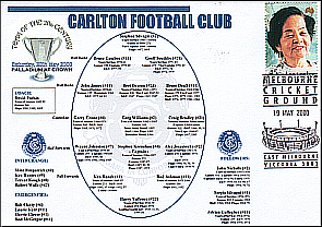 Carlton team of th Centenury Cover