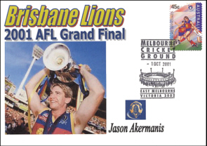 2001 Premiership and Brownlow Medalist