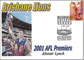 2001 Premiership and Alistair Lynch