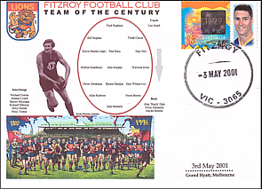 Fitzroy Lions team of th Centenury Cover