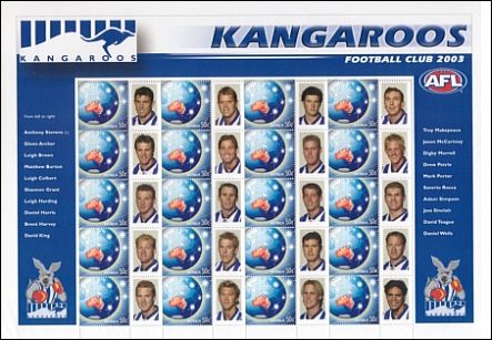 2003 Personalised Stamps