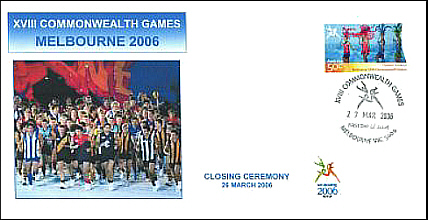 2006 Commonwealth Games Closing Ceremony