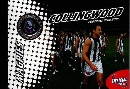 2007 Collingwood Stamp Booklet