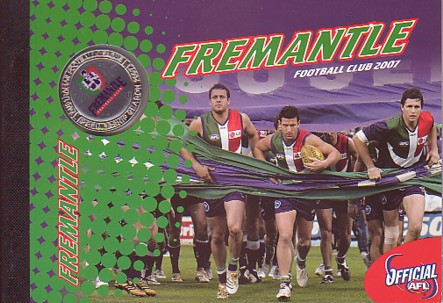 2007 Fremantle Stamp Booklet