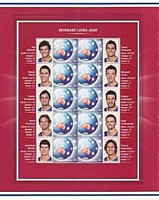 2008 AFL Stamp Sheet