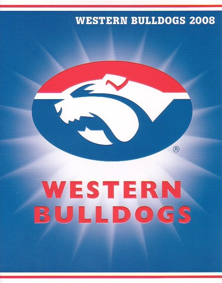 2008 Western Bulldogs P stamps