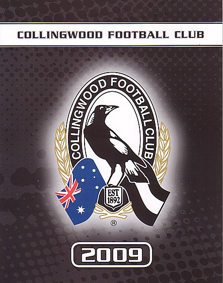 2009 Collingwood P stamps