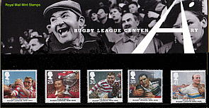 1995 Rugby League Centenary Stamp Pack