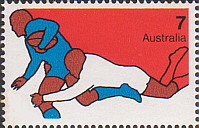 1974 Rugby stamp